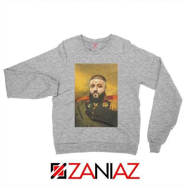 DJ Khaled We The Best Sweatshirt Funny DJ Music Cheap Sweatshirt Sport Grey