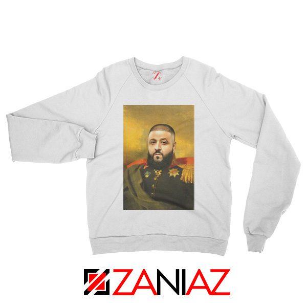 DJ Khaled We The Best Sweatshirt Funny DJ Music Cheap Sweatshirt White