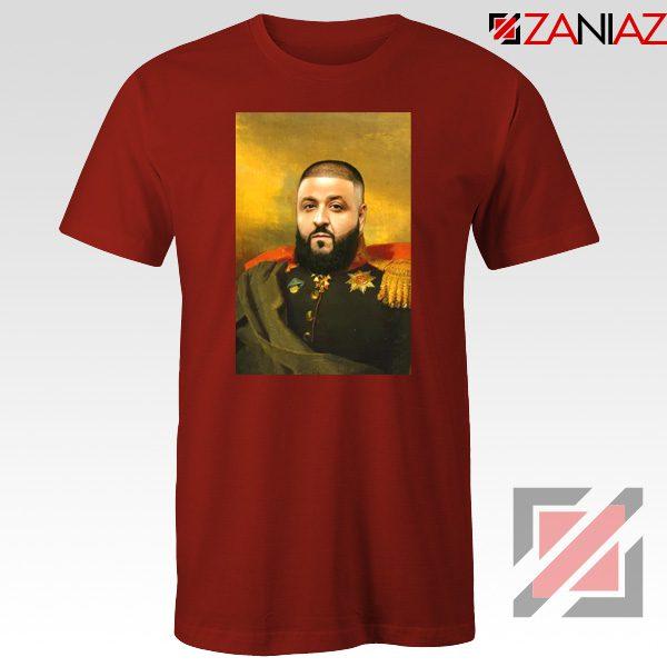 DJ Khaled We The Best Tshirt Funny DJ Music Cheap T-shirt Size S-3XL Red