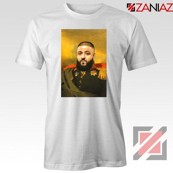 DJ Khaled We The Best Tshirt Funny DJ Music Cheap T-shirt Size S-3XL White