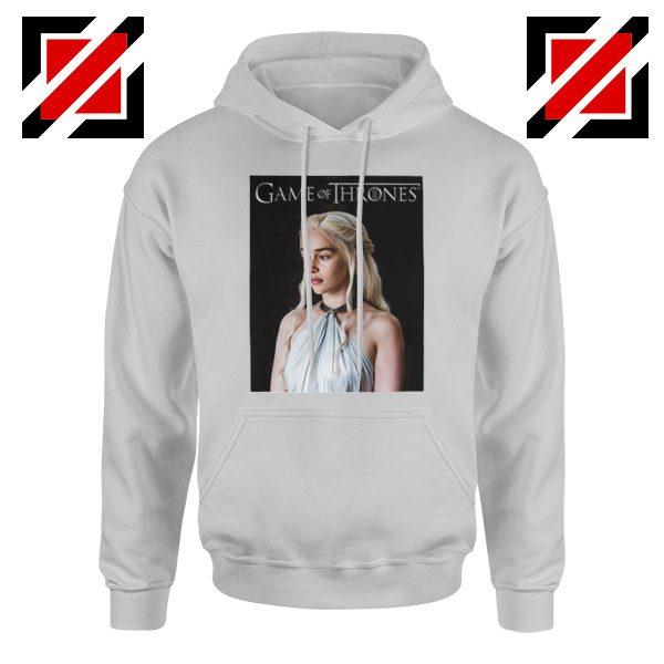 Daenerys Hoodie Game of Thrones Women's Hoodie Size S-2XL Sport Grey
