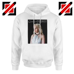 Daenerys Hoodie Game of Thrones Women's Hoodie Size S-2XL White