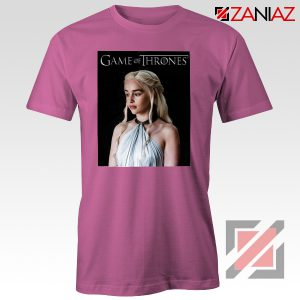 Daenerys Targaryen Tee Shirt Game of Thrones Tshirt Size S-3XL Pink