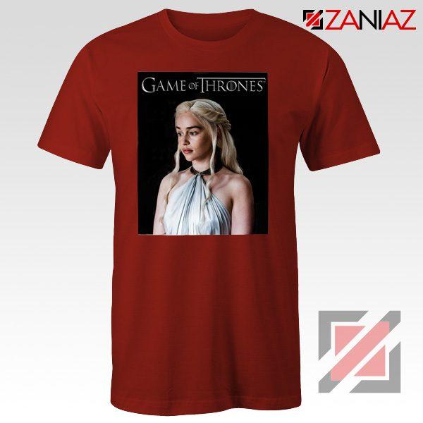 Daenerys Targaryen Tee Shirt Game of Thrones Tshirt Size S-3XL Red