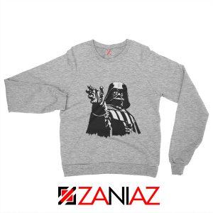 Darth Vader Star Wars Sweatshirt Star Wars Movies Sweatshirt Size S-2XL Grey