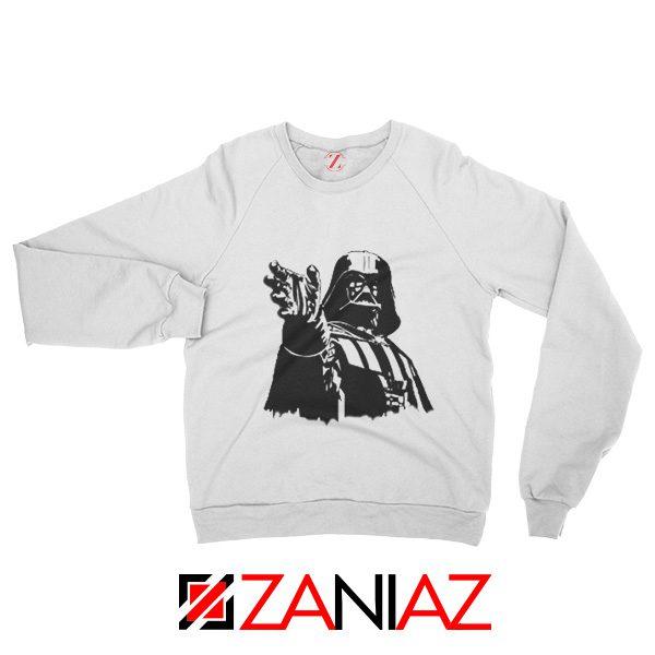 Darth Vader Star Wars Sweatshirt Star Wars Movies Sweatshirt Size S-2XL White