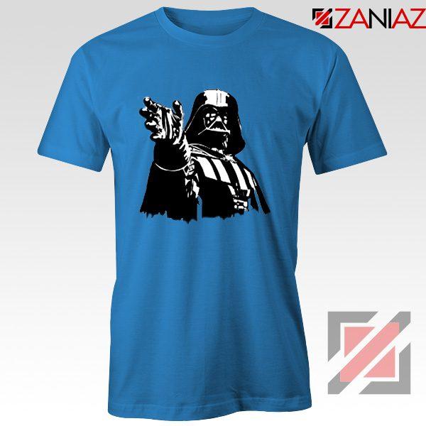 Darth Vader Star Wars T-Shirt Star Wars Movies Tee Shirt Size S-3XL Blue