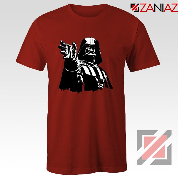 Darth Vader Star Wars T-Shirt Star Wars Movies Tee Shirt Size S-3XL Red