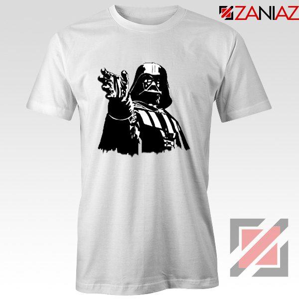 Darth Vader Star Wars T-Shirt Star Wars Movies Tee Shirt Size S-3XL White
