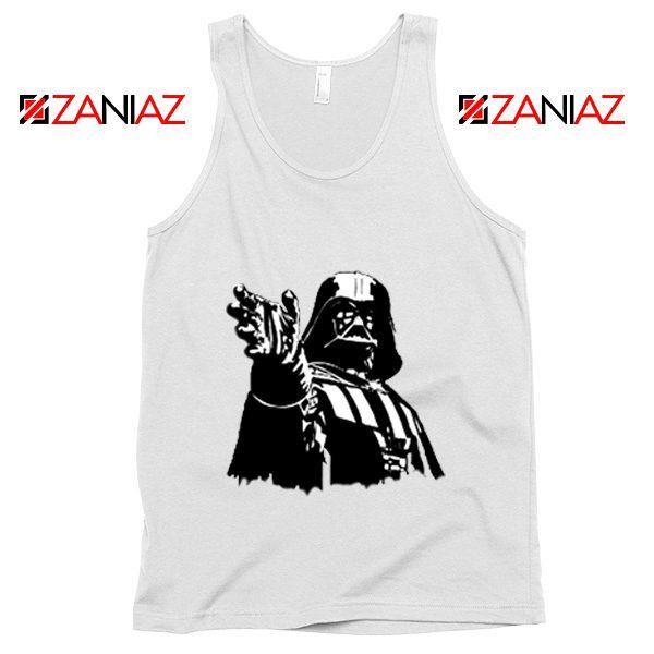 Darth Vader Star Wars Tank Top Star Wars Movies Tank Top Size S-3XL White