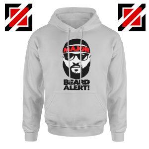 Dj Khaled Beard Alert Mens Hoodie American DJ Gift Hoodie Size S-2XL Sport Grey