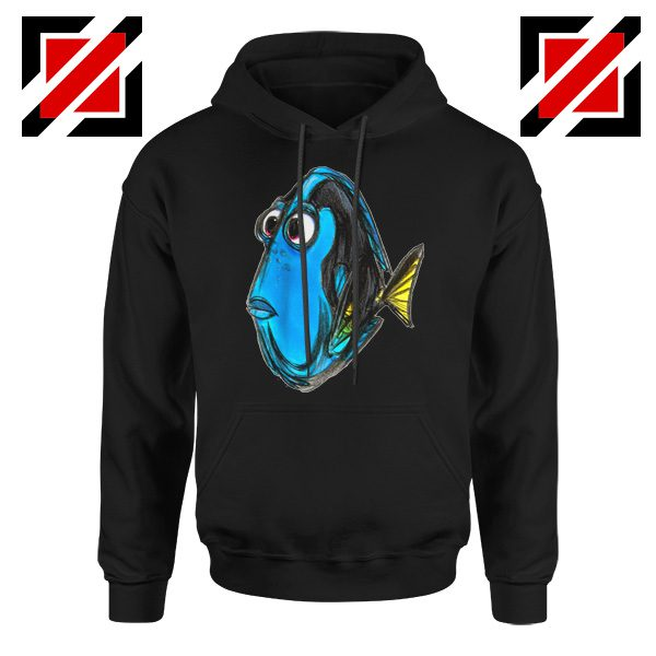 Dory Finding Nemo Hoodie Disney Pixar Design Hoodie Size S-2XL Black