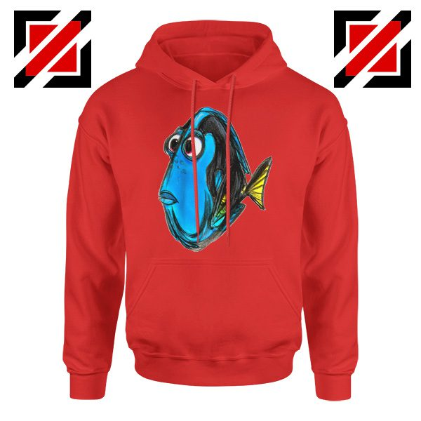 Dory Finding Nemo Hoodie Disney Pixar Design Hoodie Size S-2XL Red