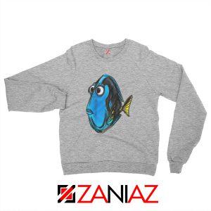 Dory Finding Nemo Sweatshirt Disney Pixar Best Sweatshirt Size S-2XL Sport Grey