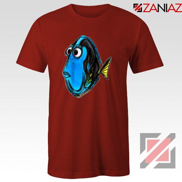 Dory Finding Nemo T-Shirt Disney Pixar T-Shirt Size S-3XL Red