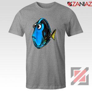 Dory Finding Nemo T-Shirt Disney Pixar T-Shirt Size S-3XL Sport Grey