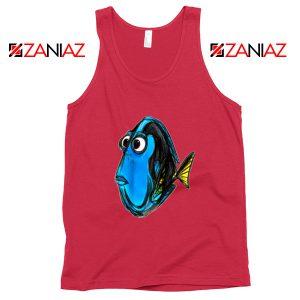 Dory Finding Nemo Tank Top Disney Pixar Tank Top Size S-3XL Red
