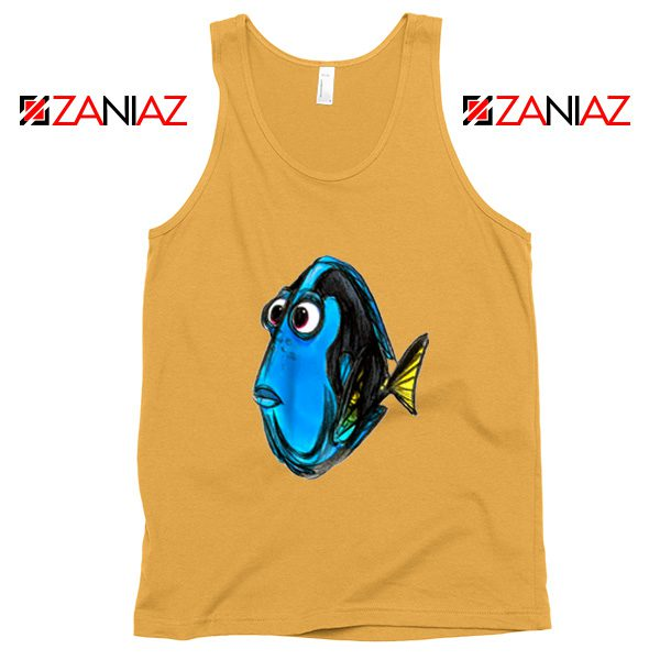 Dory Finding Nemo Tank Top Disney Pixar Tank Top Size S-3XL Sunshine