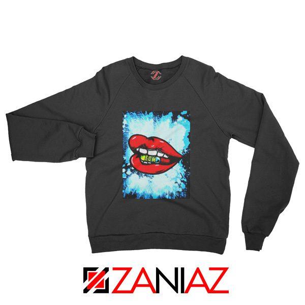 EDM Pill Sweatshirt Music Cheap Best Sweatshirt Size S-2XL Black