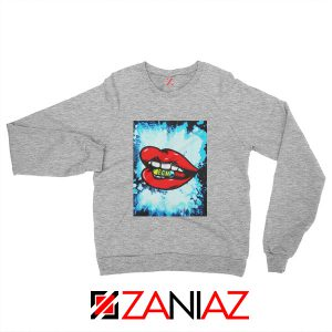 EDM Pill Sweatshirt Music Cheap Best Sweatshirt Size S-2XL Grey