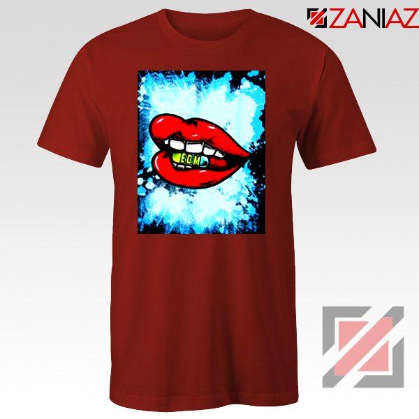 EDM Pill T-Shirt Music Cheap Best T-Shirt Size S-3XL Red