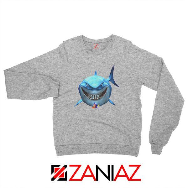 Finding Nemo Crew Sweatshirt Walt Disney Sweatshirt Size S-2XL Sport Grey