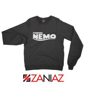 Finding Nemo Movie Logo Sweatshirt Disney Pixar Sweatshirt Size S-2XL Black