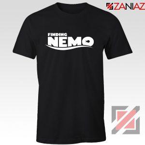 Finding Nemo Movie Logo T-Shirt Disney Pixar T-Shirt Size S-3XL Black