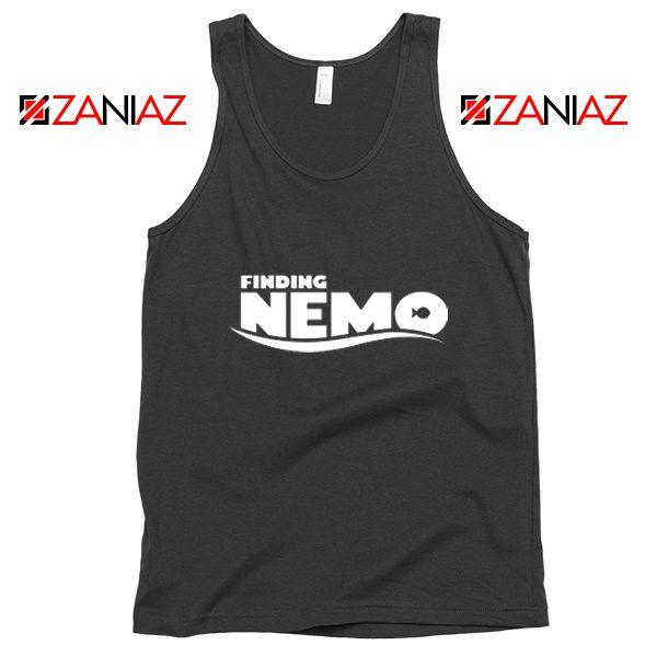 Finding Nemo Movie Logo Tank Top Disney Pixar Tank Top Size S-3XL Black