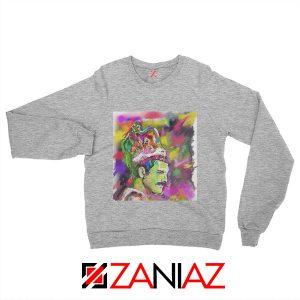 Freddie Mercury Sweatshirt Bohemian Rhapsody Sweatshirt Size S-2XL Sport Grey