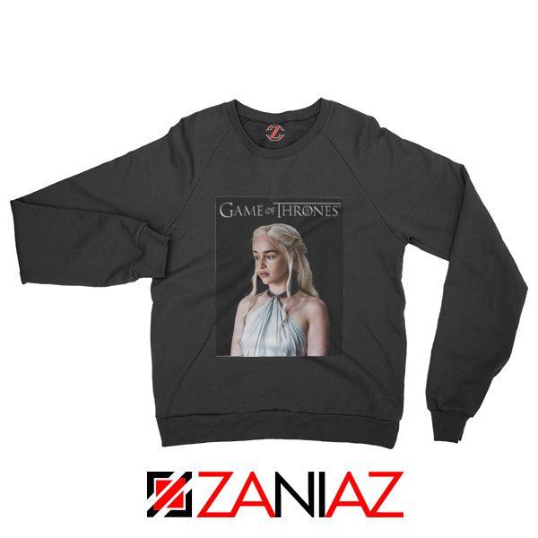 Game of Thrones Daenerys Sweatshirt Women's Sweatshirt Size S-2XL Black