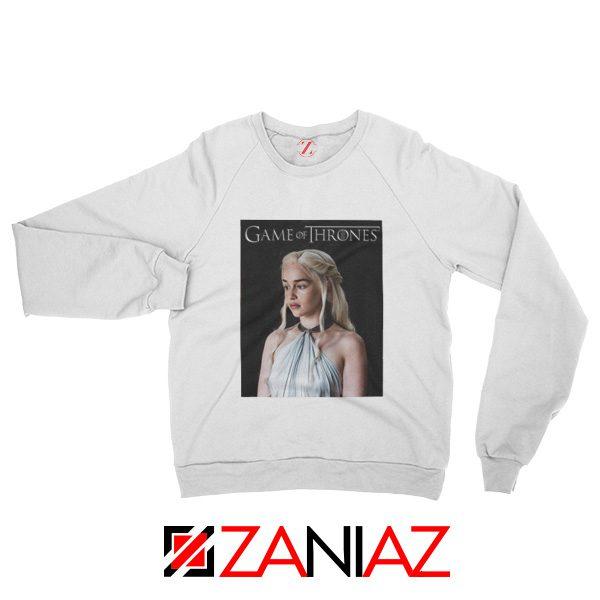 Game of Thrones Daenerys Sweatshirt Women's Sweatshirt Size S-2XL White