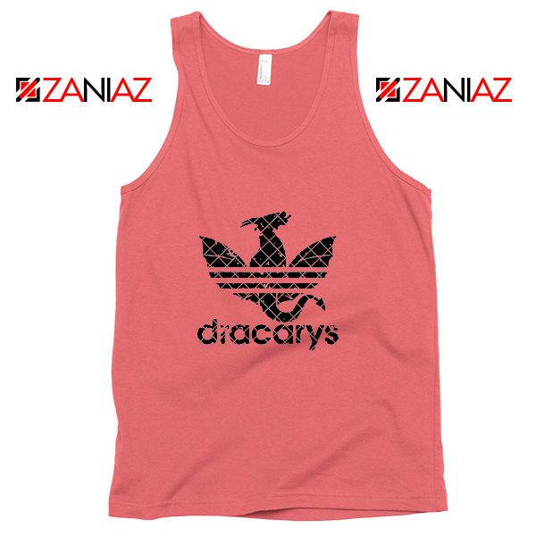 Game of Thrones Tank Top Logo Dracarys Cheap Tank Top Size S-3XL Coral