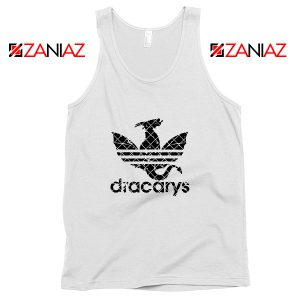 Game of Thrones Tank Top Logo Dracarys Cheap Tank Top Size S-3XL White
