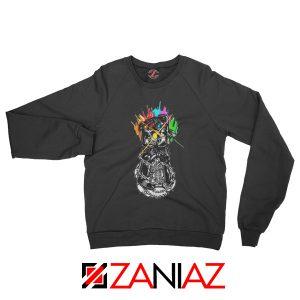 Gauntlet Thanos Avengers Villain Best Sweatshirts Size S-2XL Black