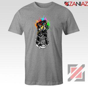 Gauntlet Thanos Avengers Villain Best T-shirts Size S-3XL Grey