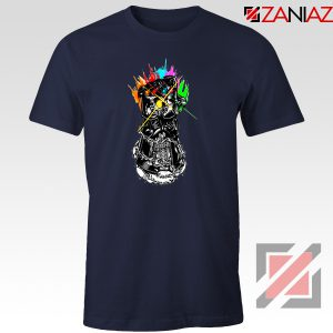 Gauntlet Thanos Avengers Villain Best T-shirts Size S-3XL Navy