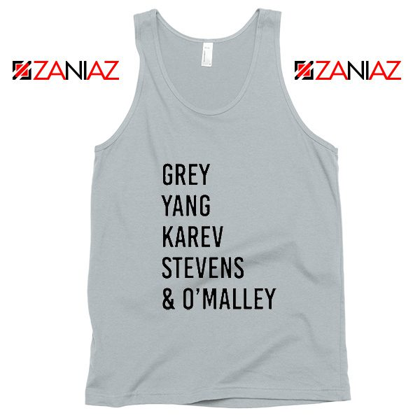 George O'Malley Grey's Anatomy Squad Cheap Tank Top Size S-3XL New SIlver