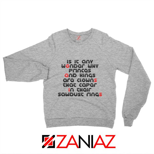 Go Let It Out Oasis Lyrics Sweatshirt Oasis Band Sweatshirt Size S-2XL Grey