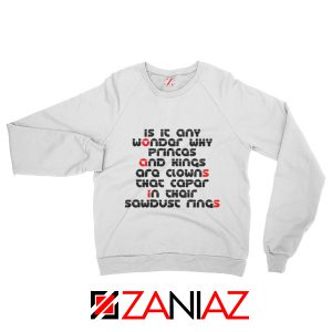 Go Let It Out Oasis Lyrics Sweatshirt Oasis Band Sweatshirt Size S-2XL White