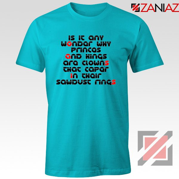 Go Let It Out Oasis Lyrics Tee Shirts Oasis Band T-Shirts Size S-3XL Light Blue
