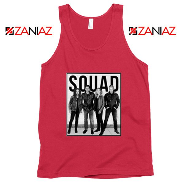 Grey's Anatomy Squad American Drama Television Series Tank Top Red