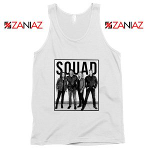Grey's Anatomy Squad American Drama Television Series Tank Top White