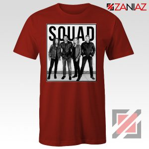 Grey's Anatomy Squad American Drama Television Series Tee Shirt Red