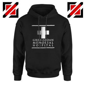 Grey Sloan Memorial Best Hoodie Drama Medical Television Series Black