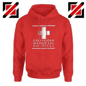 Grey Sloan Memorial Best Hoodie Drama Medical Television Series Red