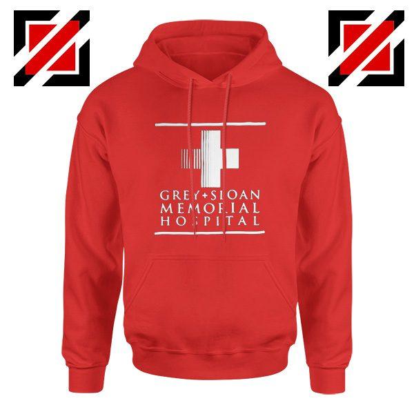 Grey Sloan Memorial Best Hoodie Drama Medical Television Series Red