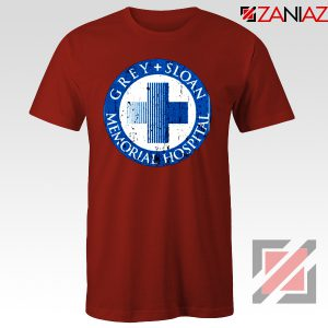 Grey Sloan Memorial Hospital Cheap Best Tee Shirt Size S-3XL Red