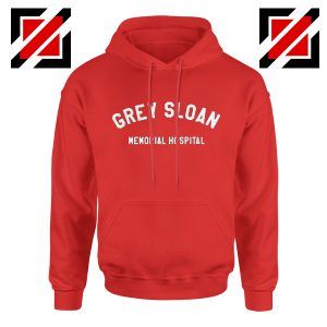 Grey Sloan Memorial Hospital Hoodie Greys Anatomy Cheap Hoodie Red