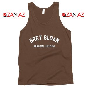 Grey Sloan Memorial Hospital Tank Top Greys Anatomy Tank Top Brown